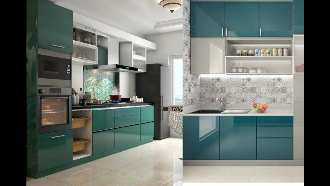 Latest Modular Kitchen Designs 2020 Latest Ideas Youtube