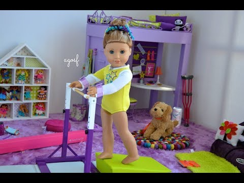 American Girl Doll McKenna Bedroom, Morning Routine, Whole World Collection Mash Up