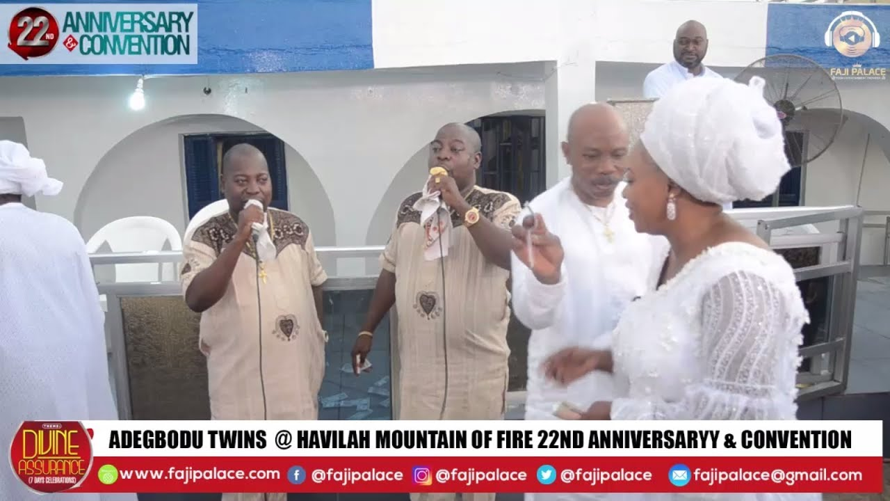 Download ADEGBODU TWINS LIVE @ ROSAC 22ND ANNIVERSARY & CONVENTION WITH DADDY AND MUMMY OLUBORI