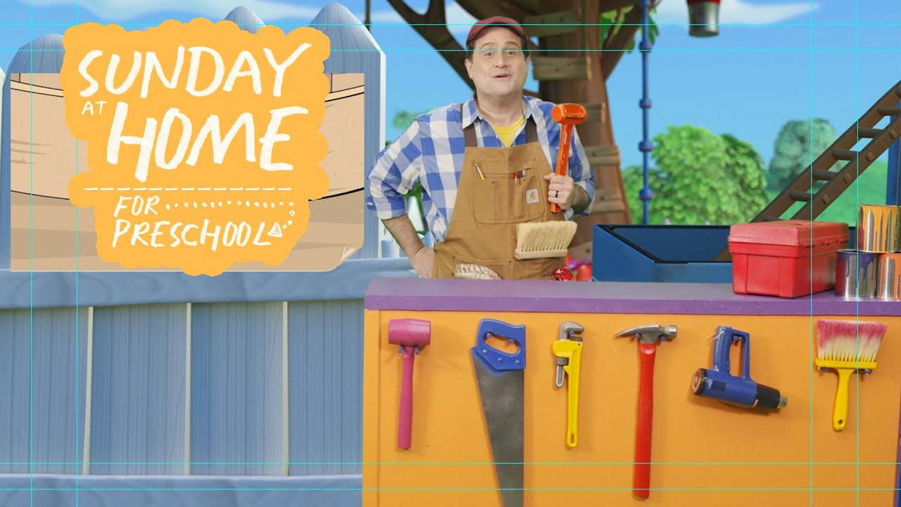 Sunday at Home for Preschoolers | June 13, 2021