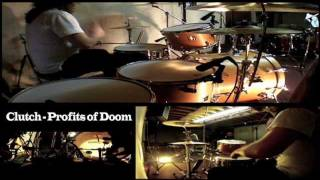 Clutch - Profits of Doom drum cover