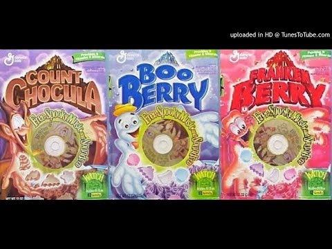 13 Days Of Halloween Rhythm & Boos Cereal Cd FULL ALBUM