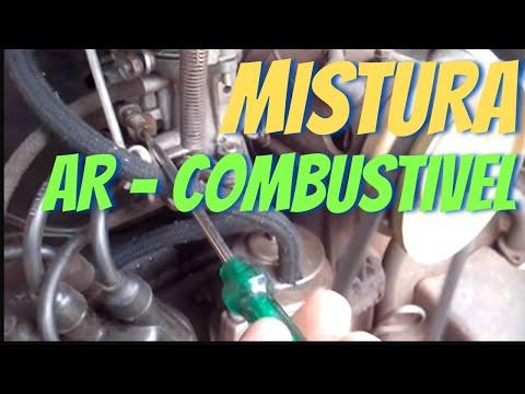 Como regular mistura ar - combustivel no carburador