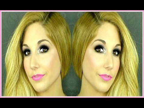 Jefree Star Inspired;Black Smokey eyes with Glitter+Neon lips!| David Jean thumbnail