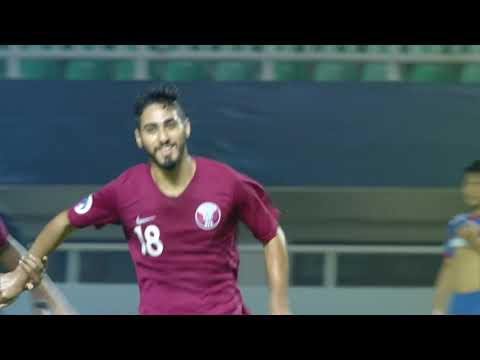 Qatar 4-0 Chinese Taipei (AFC U19 Indonesia 2018 : Group Sta