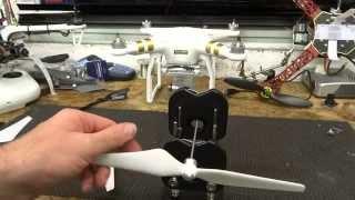 DJI Phantom 3 Propeller & Balancing Tutorial