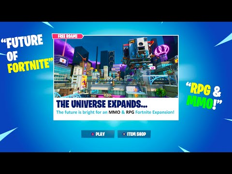Fortnite Secret Expansion In The Making? The Future Of Fortnite... (Discussion)