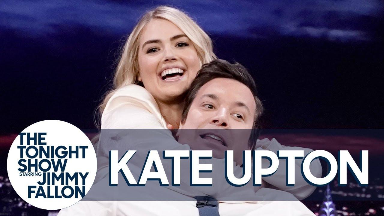 Kate Upton Demonstrates a Jiu-Jitsu Rear Naked Choke on Jimmy