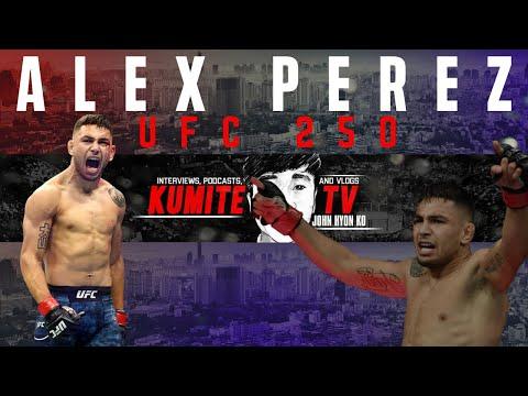 Alex Perez anticipates 'Fight Of The Night' against Jussier Formiga