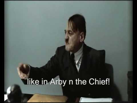Hitler is informed that his first Youtube comment has been disliked