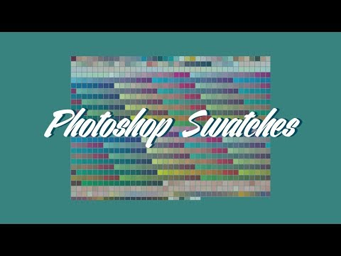 Photoshop Swatches And Where To Find Them