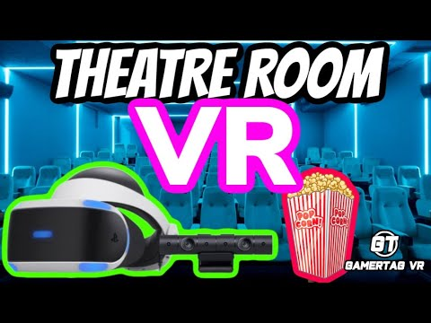 Grab Your PSVR Friends & Some Popcorn | Theatre Room VR BETA