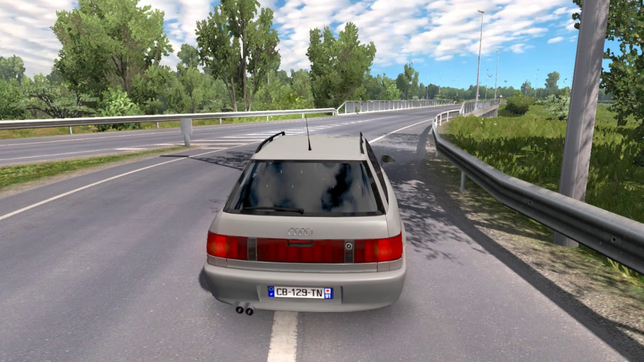 Audi 80a Car Mod Ets2 126 Youtube