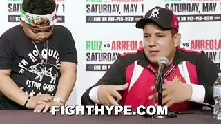 EDDY REYNOSO REACTS TO ANDY RUIZ BEATING CHRIS ARREOLA & GETTING DROPPED; REVEALS WHAT RUIZ TOLD HIM