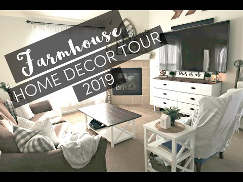 HOME DECOR TOUR 2019 | FARMHOUSE HOME DECOR | HOME DECOR INSPIRATION