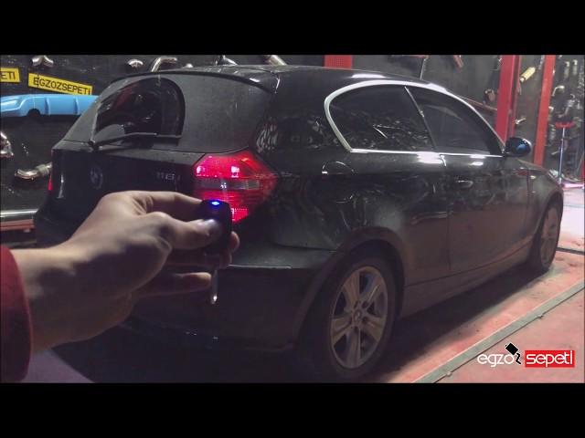 BMW E87 1.16 KUMANDALI VAREX EGZOZ SESİ
