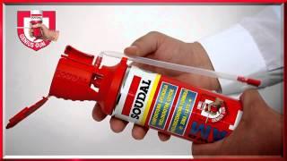 видео SOUDAL пистолетная монтажная пена (жёлтая)