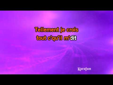Karaoké Mon mec à moi - Patricia Kaas *