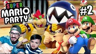 Luchas Locas en Super Mario Party   Juegos Karim Juega