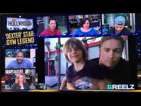 Jadon Wells on TMZ Hollwood Sports March 19, 2015 with Dan Wells at CrossFit Horsepower