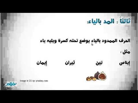 حروف المد لغة عربية الصف الأول الإبتدائي الترم الثاني منهج مصري نفهم Youtube