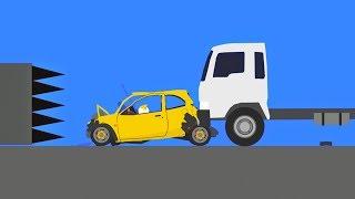 Extreme Car Destruction  Phun Algodoo