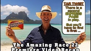 THE AMAZING RACE 22: Episode 1 Comedic Video Recap Mashup