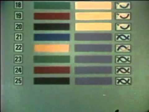 COMMUNICATIONS CABLE-PIC - COLOR CODE