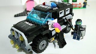 Полицейская машина Лего - Конструктор LEGO для детей - Машинки мультфильм - LEGO Police Car