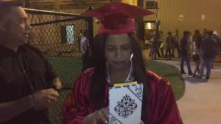 Juanita's EPIC graduation-surprise car gift 2016