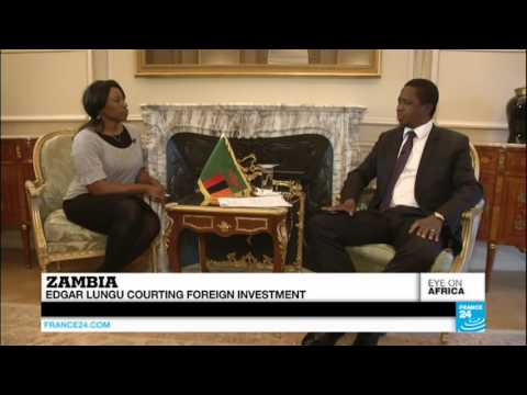 France 24's Georja Calvin-Smith speaks to Zambian president edgar Lungu