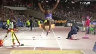 Kimberly Williams 14.15 - Triple jump Women (Diamond League-2015. London)