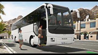 Tourist Bus Simulator #8 - ПОЕЗДКА К ОКЕАНУ