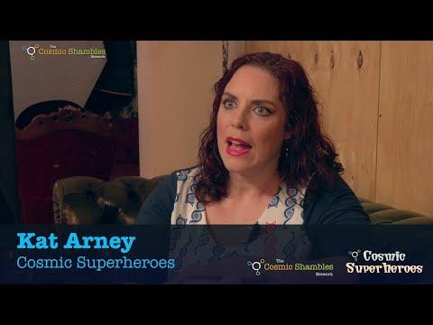 Dr Kat Arney - Cosmic Superheroes