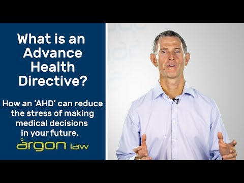 Why you need an Advance Health Directive.  | Legal Advice from a Sunshine Coast Lawyer