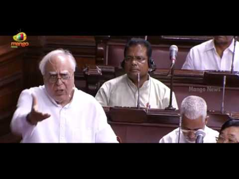 Kapil Sibal Satires On Arun Jaitley In Lok Sabha Over AP Special Status Private Member Bill