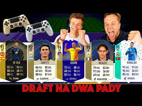 CO ZA DRAFT! Na dwa pady! | FIFA 18