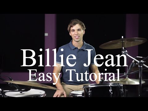 How To Play Billie Jean By Michael Jackson - Drumming Made Simple Episode #6