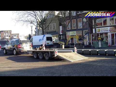 Gaslek in het centrum van Coevorden