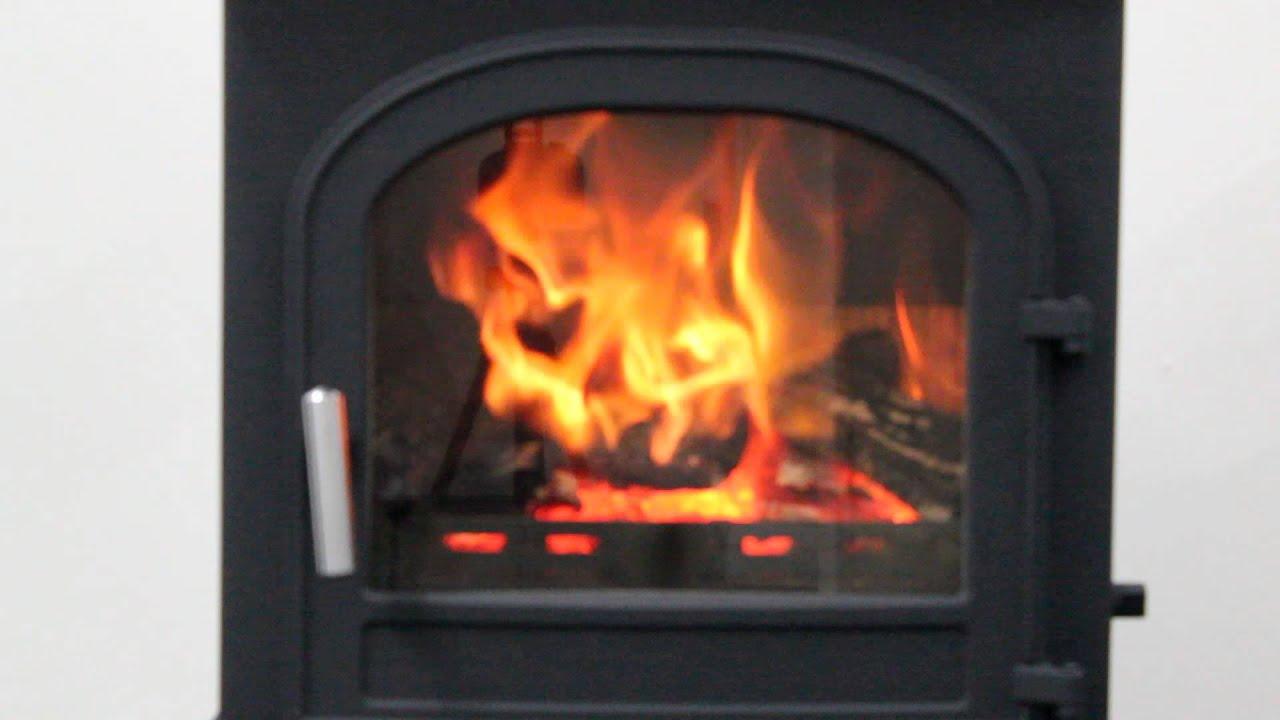 cleanburn skagen multi fuel stove youtube