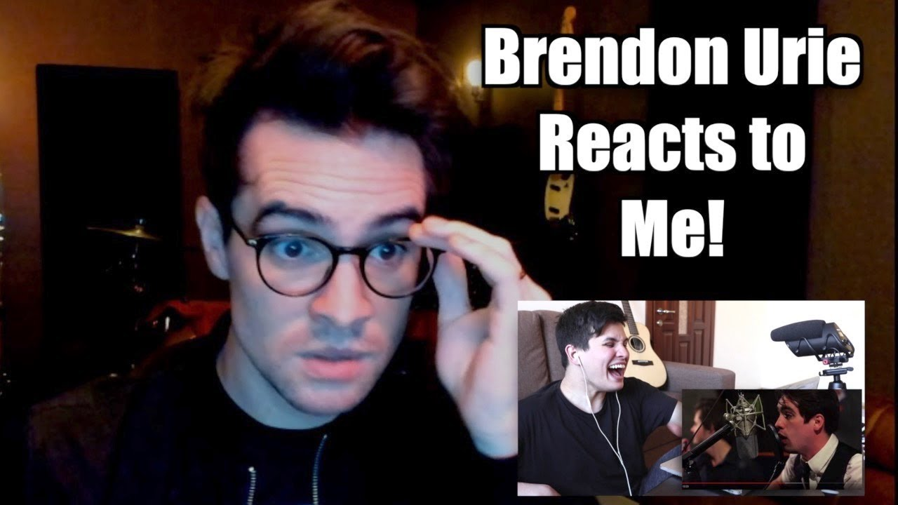 Brendon Urie Reacts To Me