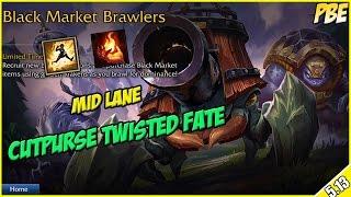 ✔ NEW GAME MODE! - Black Market Brawlers as Cutpurse Twisted Fate