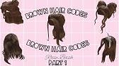 Roblox Girl Hair Codes Part 2 Youtube