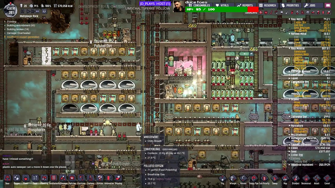 Is oxygen not included multiplayer | multiplayer mode