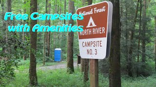 Free Campsites Around the Cherohala Skyway in Tennessee -Save Money and Camp like a king.