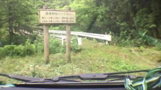 [軽トラ車載動画] 2016/06/22 秋田県道129号 萩形ダム~奥へ(後)