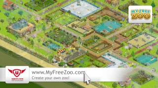 My Free Zoo -- Birthday in the Zoo Game (Trailer) - Upjers ScreenCast