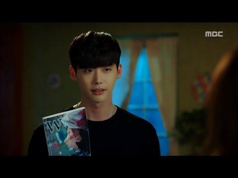 [W] ep.11 Lee Jong-suk has Han Hyo-joo's comic book? 20160825