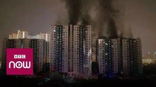 Hiện trường vụ cháy chung cư cao cấp Carina, TPHCM | VTC1