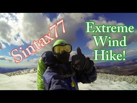 High Winds Hiking & Winter Camping in the White Mountains